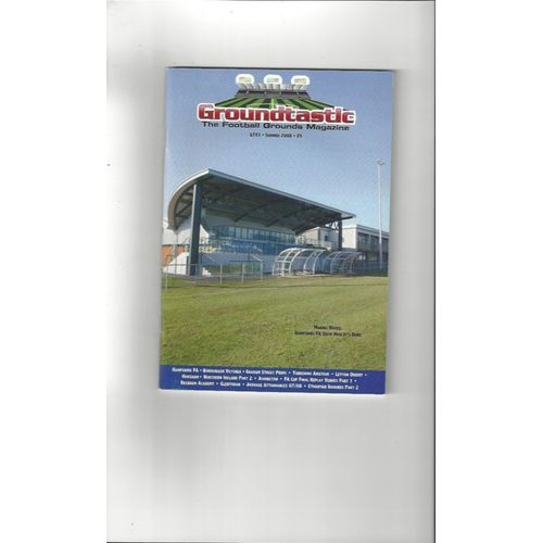 Groundtastic Football Grounds Magazine No 53 2008