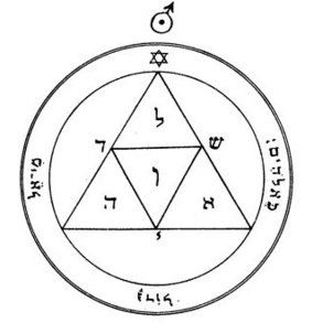S-10 Third Pentacle of Mars