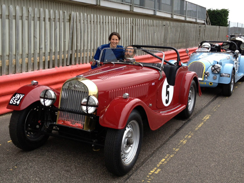 Morgan Race Preparation and Support: Historic Morgan Racing - Morgan +4
