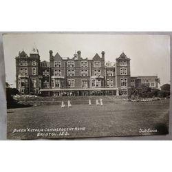 Queen Victoria Convalescent Home Bristol Postcard RPPC