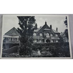 Powell Duffryn Workmens Hospital Aberbargoed Postcard