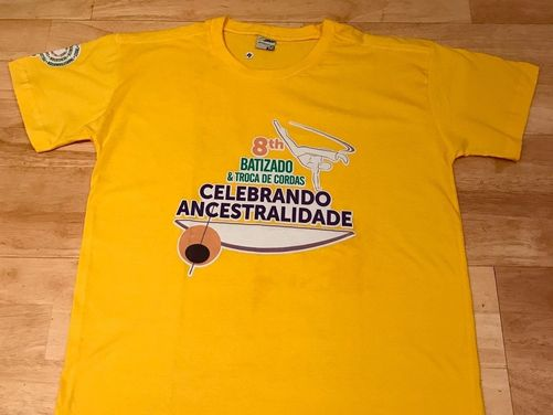 2016 Batizado T Shirt - Yellow (M)