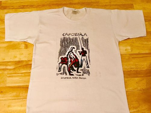 Capoeira Bahia T Shirt - White