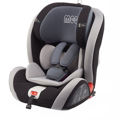 MCC Convertible Car Seat, with ISOFIX system Group 1,2,3 (Black)