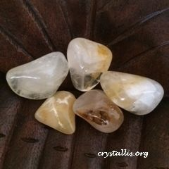 Golden Healer Tumblestone
