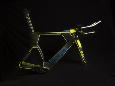 Evo2max carbon frameset timetrial triathlon aero