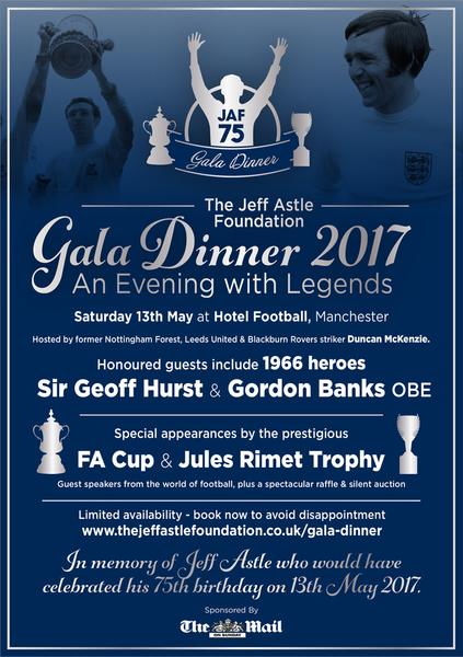 The Jeff Astle Foundation Gala Dinner 2017