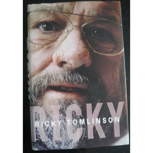 Signed Ricky Tomlinson Autobiography