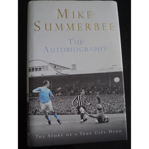 Signed Mike Summerbee Autobiography