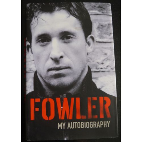 Signed Robbie Fowler Autobiography