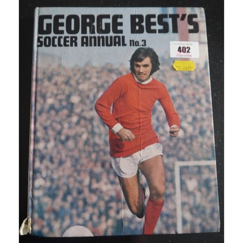 Signed George Best Soccer Annual 03