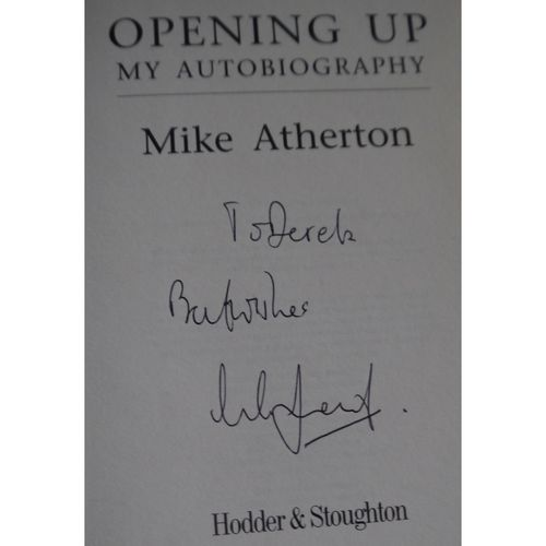 Signed Mike Atherton Autobiography