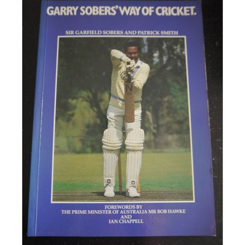 Signed Garry Sobers Way of Cricket