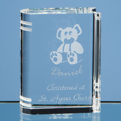 Optical Crystal Miniature Book (6cm)