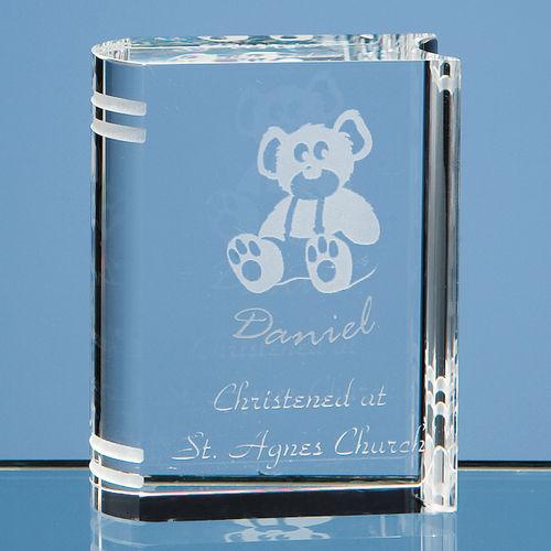 Optical Crystal Miniature Book (6cm)