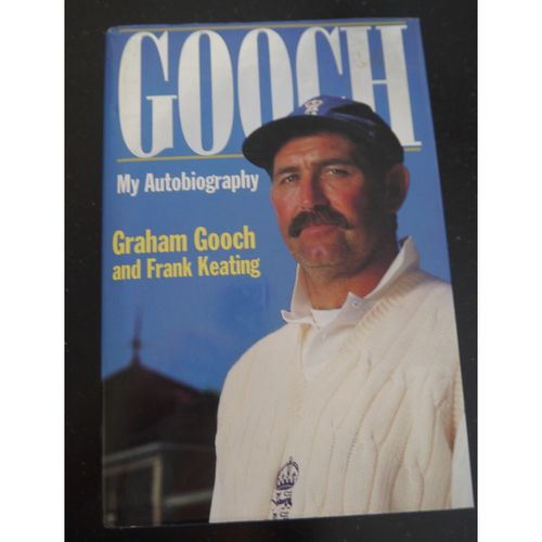 Signed Graham Gooch Autobiography