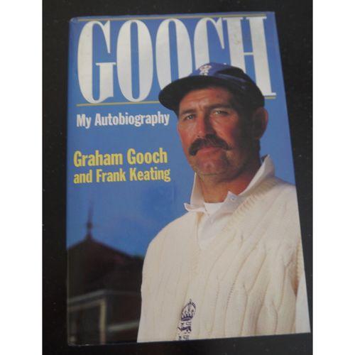Signed Graham Gooch Autobiography