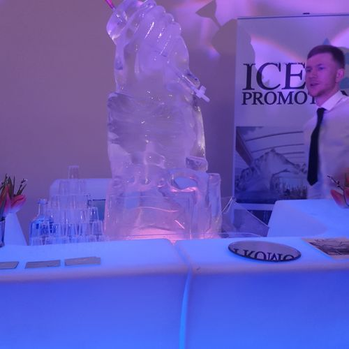 The Hand Ice Luge
