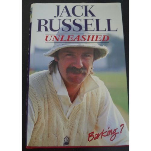 Signed Jack Russell Autobiography Unleashed
