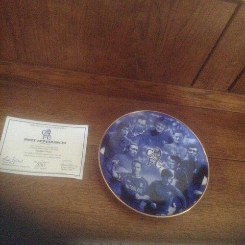 Chelsea Porcelain Plate by Danbury Mint No. 0787 Most Appearances