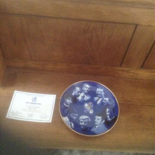 Chelsea Porcelain Plate by Danbury Mint No. 0456 The Managers