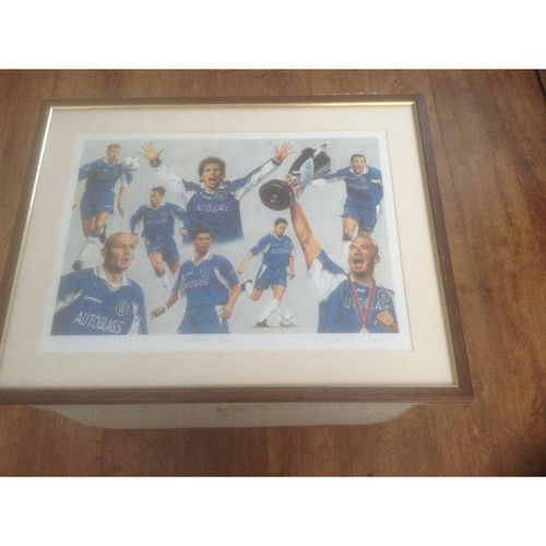 Chelsea - Millennium Blues Limited Edition Framed print by Patrick Loan