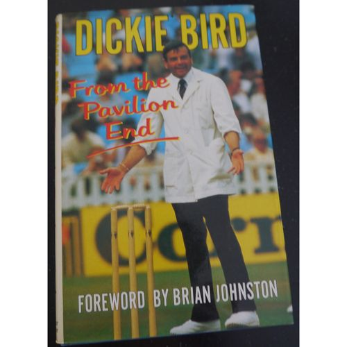 Signed Dickie Bird - Autobiography