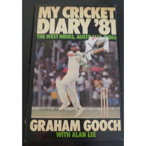 Graham Gooch My Cricket Diary 81