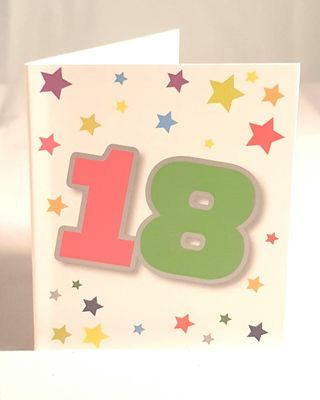 18th Birthday Gift Tag