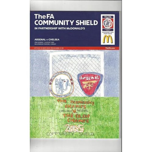 Arsenal v Chelsea FA Charity Shield 2005