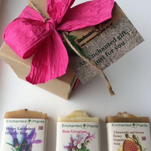 Three Soap Gift box