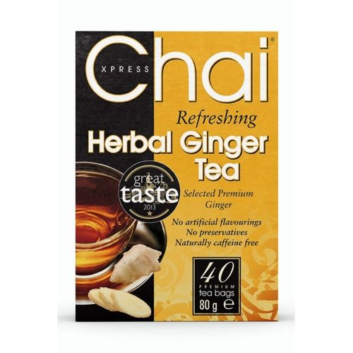 Refreshing Herbal Ginger Tea by Chai Xpress