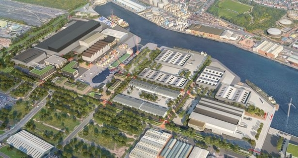 Wirral Waters plan for 'university of the sea' and hundreds of new jobs