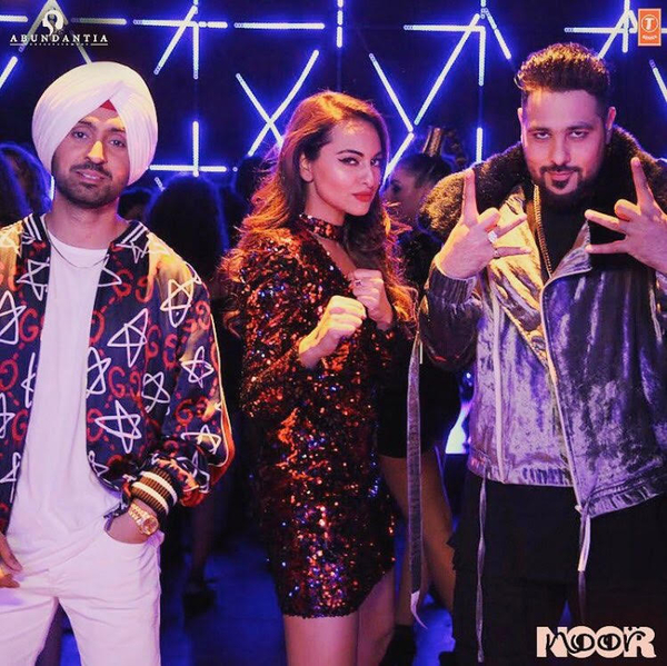 Badshah, Diljit Dosanjh and Sonakshi Sinha Team Up For A Song Together And It Is Amazing