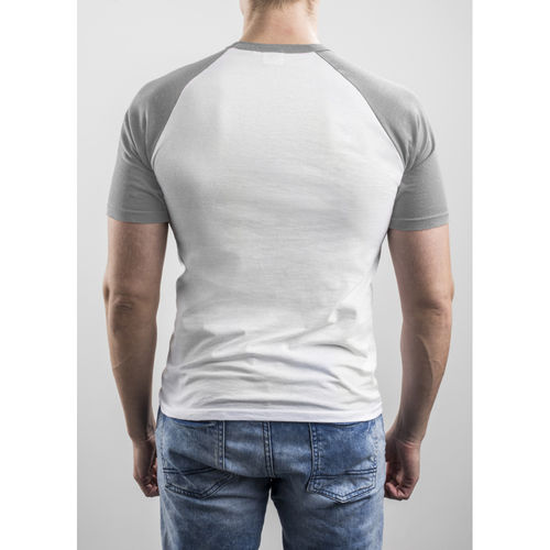 Slim Fit Contrast Grey T-shirt