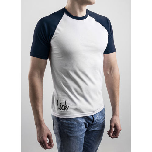 Slim Fit Contrast Navy T-shirt