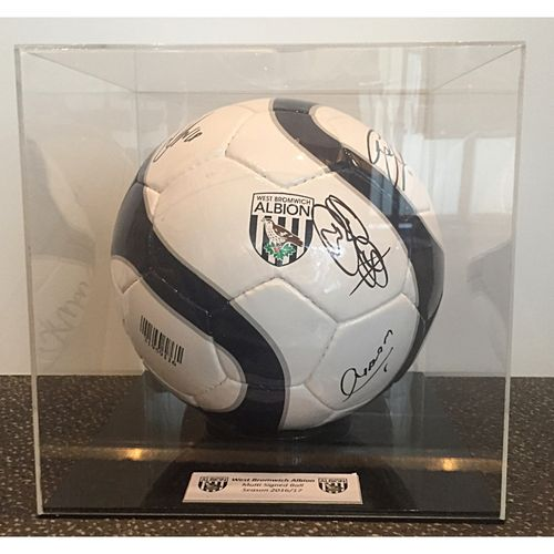 Squad Signed 2016/17 West Bromwich Albion Ball