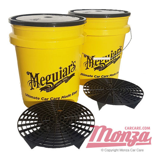Meguiars Swirl Free Paint Twin Wash Bucket Kit