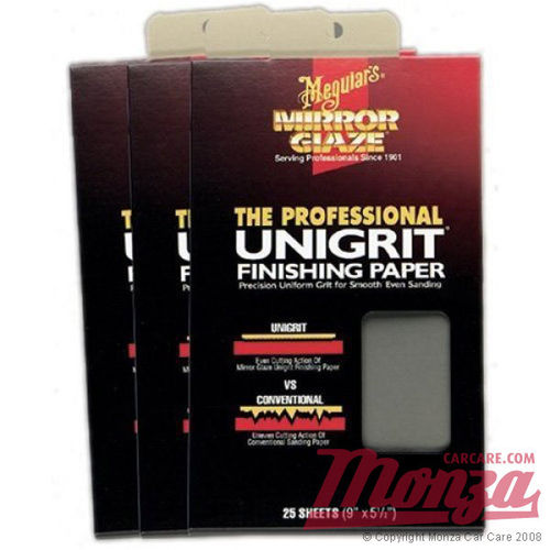Meguiars Unigrit Finishing Papers 1200