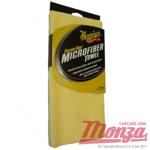 Meguiars Supreme Microfibres Pack of 3