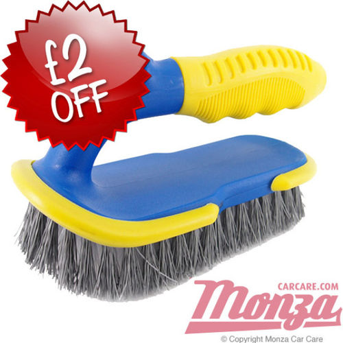 Monza Heavy Duty Carpet & Fabric Brush