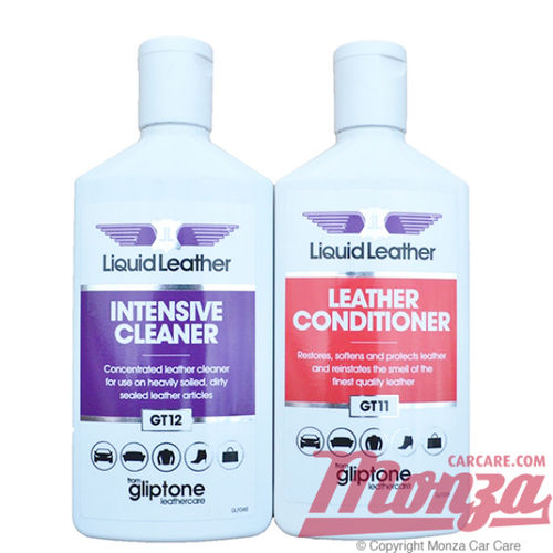 Gliptone Leather Cleaner & Conditioner Kit