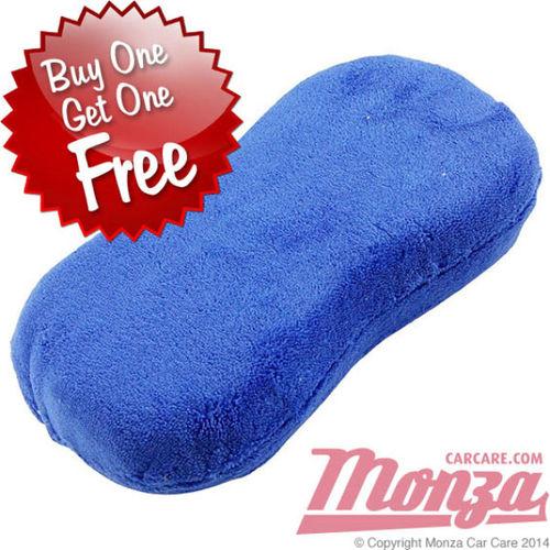 Monza Microfibre Wash Sponge BUY 1 GET 1 FREE
