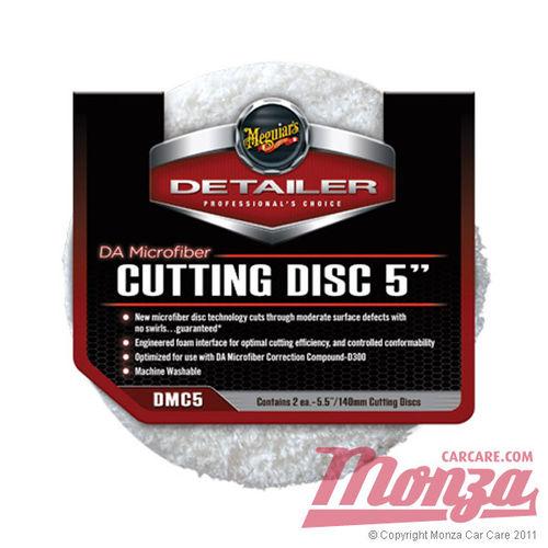 """Meguiars 5"""" DA Microfibre Cutting Pads"""