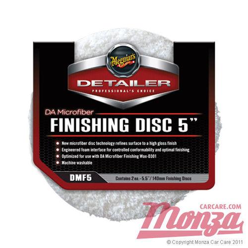 "Meguiars 5"" DA Microfibre Finishing Pads"