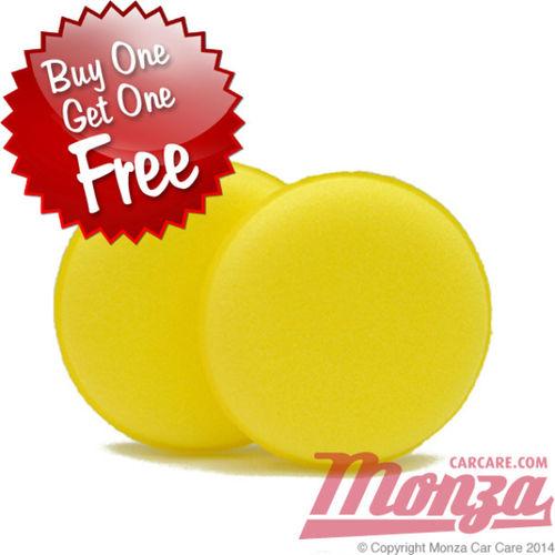 Monza Soft Foam Wax & Trim Applicator Pads
