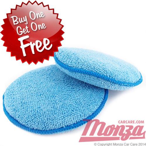 Monza Microfibre Deepile Wax Applicators