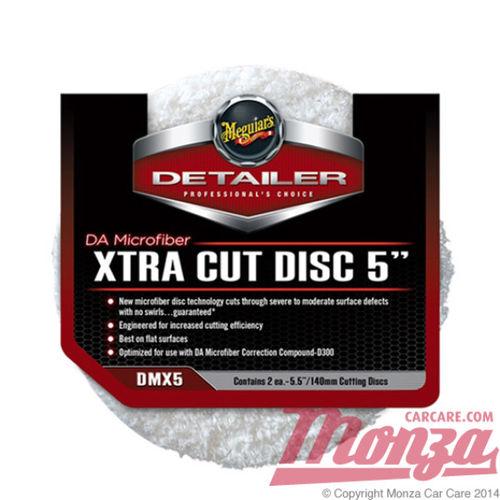 """Meguiars 5"""" DA Microfiber Xtra Cut Discs"""