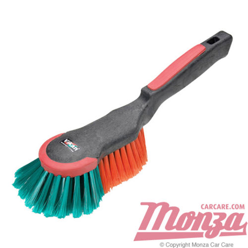 Vikan Short Handle Body / Wheel Brush