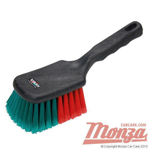 Vikan Large Faced Wheel Brush